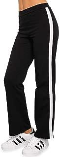 product image for Blue Canoe Organic Cotton Black Track Pant W White Side Stripe