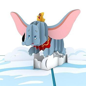 Amazon.com: Tarjeta de cumpleaños Disney Dumbo Lovepop ...