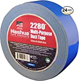 NASHUA 2280 Blue Duct Tape, 48mm x 55M Full Case