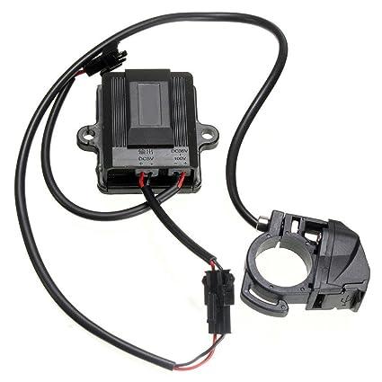 TOOGOO (R) USB puerto cargador de coche eléctrico generador ...