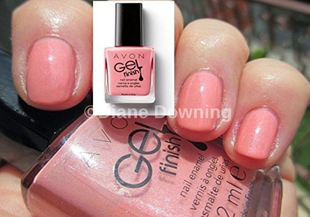 Gel Finish Nail Enamel Polish In Dazzle Pink From Avon Amazon Co Uk Beauty