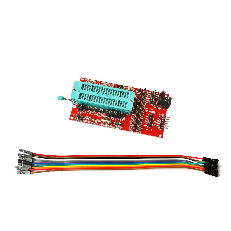 PIC Microcontroller Minimum System Board Development Board Universal Programmer Seat ICD2 KIT2 KIT3 for PICKIT 2 PICKIT3 MT