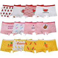 Kidear Bragas Cortas de algodón para niñas pequeñas de la Serie para niños Ropa Interior variada para bebés (Paquete de…