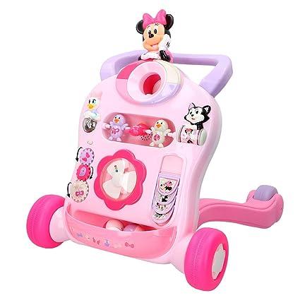 Disney- Correpasillos andador interactivo, Minnie (ColorBaby ...