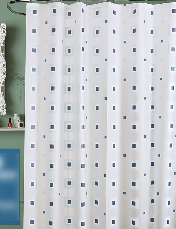 BD RWEUEQ Shower Curtains Bathroom Curtain Curtain White Waterproof ...