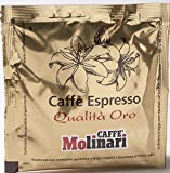 Caffe' Molinari 150 ESE Espresso Paper Pods from Modena Italy Review