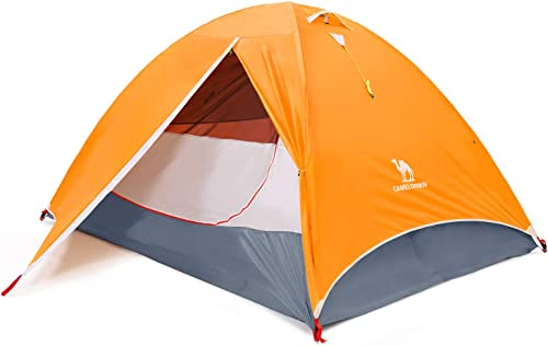 CAMEL CROWN Camping Dome Tent for Hiking,Waterproof Windproof Backpacking Hiking Tents,Easy Set up Lightweight Tents,for Outdoor Camping Hiking Traveling