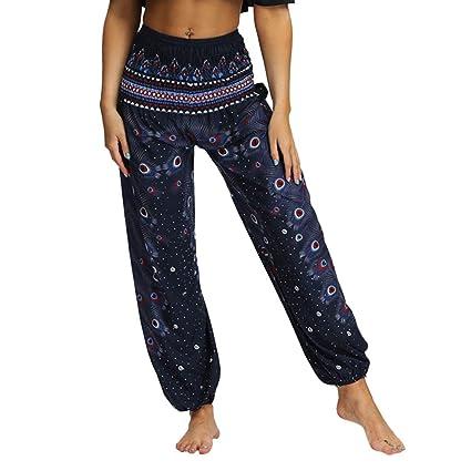 Amazon.com: Lounge Pants Women Long Length Boho Gypsy ...