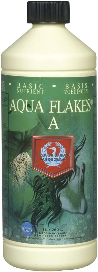 House & Garden GL56749642 HGAFA01L Aqua Flakes, 1 L fertilizers, Natural