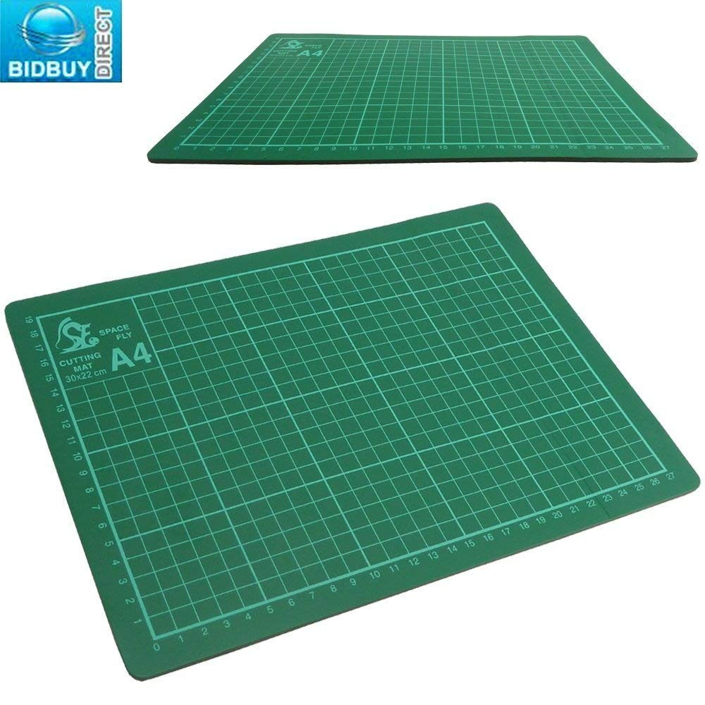 Bid Buy Direct - Materassino Per Taglio, Formato A4, Antiscivolo, Autoriparante A4 Cutting Mat