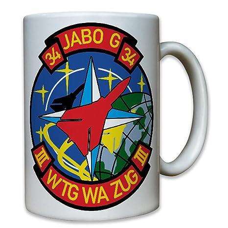 jabog34 III wtg WA Tren – Bundeswehr Aire Arma Alemania Tornado OTAN Avión Patch nadadores Escudo