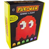 Pacman Ghost Light Table Lamp - 16 Color Options - Changes Colors to Music - USB Powered