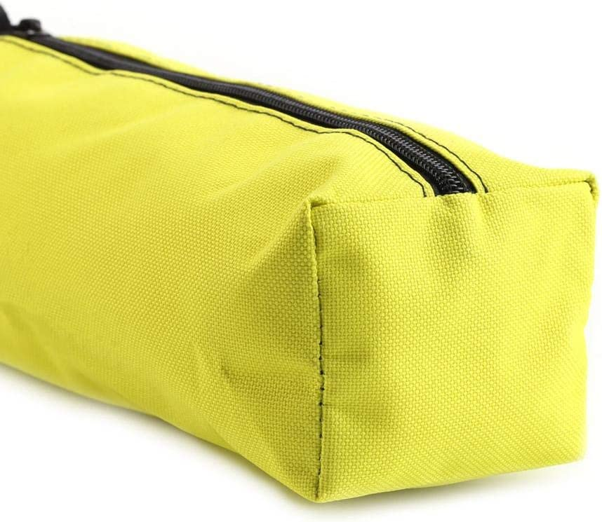 Gelb Akozon Wasserdichte Elektriker Werkzeugtasche Protable Kleine Hand Held Werkzeughalter Tasche Aufbewahrungstasche