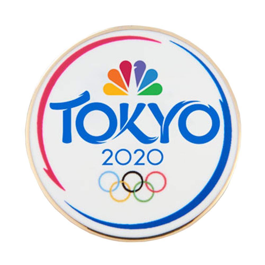 Summer Olympics 2020.2020 Summer Olympics Tokyo Japan Nbc Sports White Lapel Pin