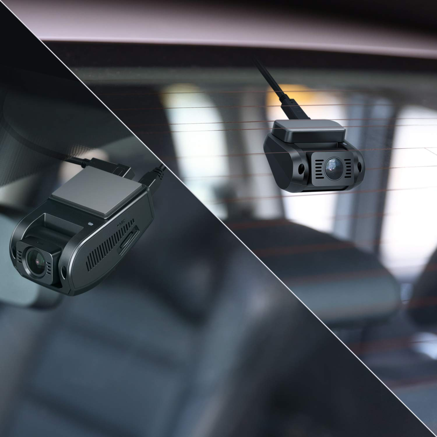 AUKEY GPS Antenna for Dashboard Cameras with 4-pin 3.5mm GPS Port and AUKEY Dash Cams