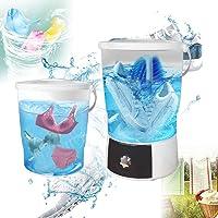 Automatic Shoes Washer,Mini Washing Machine Washing Capacity 4.5Kg High Frequency Compact Washing Machine Set for…