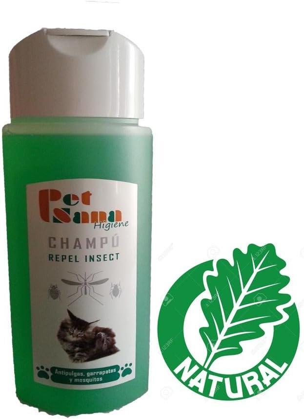 Champù repelente para gatos antipulgas,garrapatas y mosquitos 250 ml: Amazon.es: Belleza