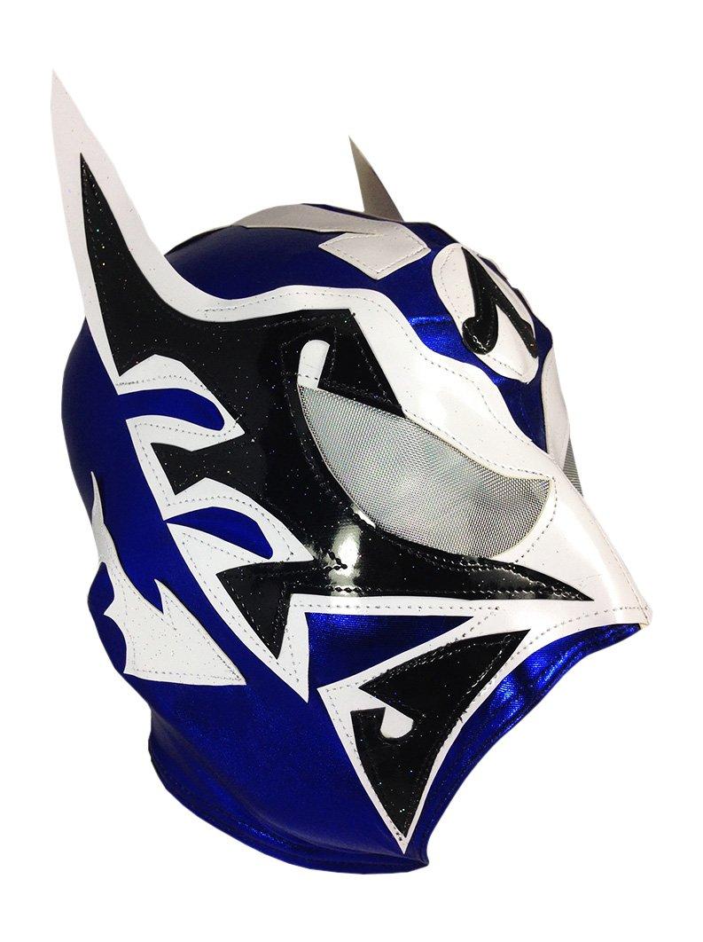 ULTIMO GUERRERO Lycra PRO Adult Lucha Libre Wrestling Mask (pro-LYCRA) Blue
