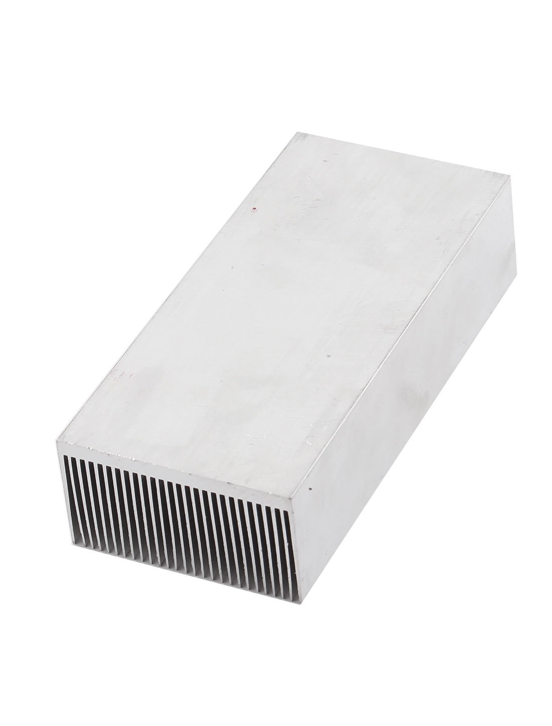 Uxcell a14111400ux0256 uxcell Aluminum Heat Radiator Heatsink Cooling Fan 150x69x37mm Silver Tone by uxcell (Image #2)
