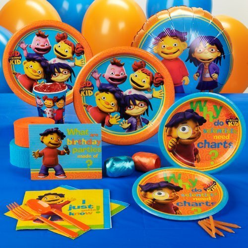 Tremendous Sid The Science Kid Party Supplies And Ideas Funny Birthday Cards Online Inifofree Goldxyz