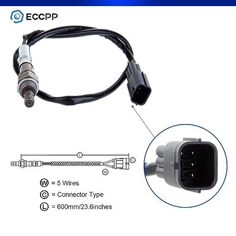 eccpp Air Fuel Ratio Sensor Sensor de Oxígeno Upstream Fit 234 – 5015 para 2006 –