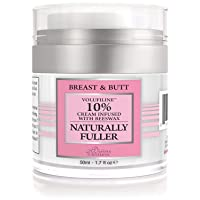 Divine Derriere Body Cream - Natural Breast Cream For Bust and Butt, Naturally Fuller...