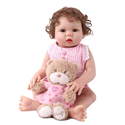 Amazon.com: CHAREX Belly Reborn Baby Dolls, 18 Inches Full ...