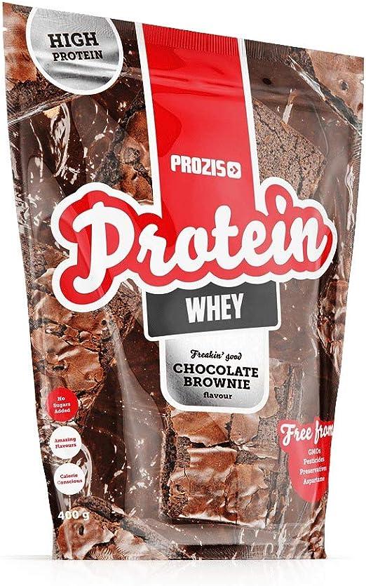 Prozis Whey Protein Freakin Good, Brownie de chocolate - 400 g