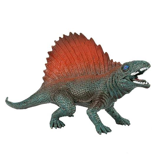 Zerodis- 6 Piezas de Dinosaurios, Alta simulación de PVC ...