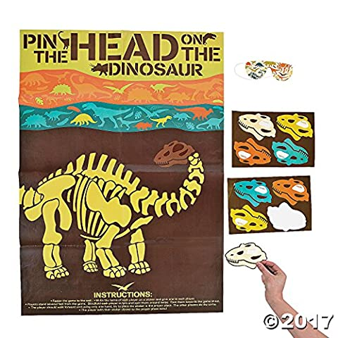 Dino Dig Party Game - Dinosaur Head