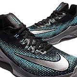 Nike Mens AIR MAX Infuriate Low Shoes Black Silver