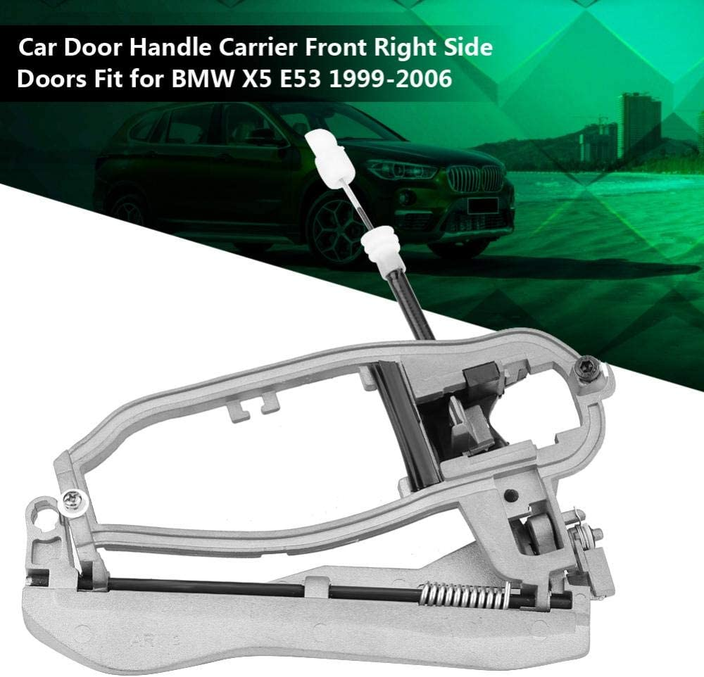 Front Right Hand Side Door Handle Carrier Frame for BMW X5 E53 1999-2006