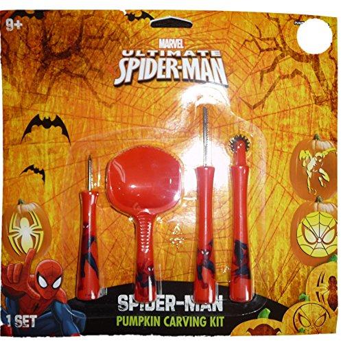 Spider-man (Marvel Comics) Ultimate Halloween Pumpkin Carving Set]()