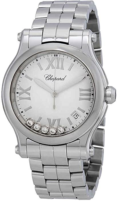 40a6554956af4 Amazon.com  Chopard Happy Sport Women s Watch 278582-3002  Watches