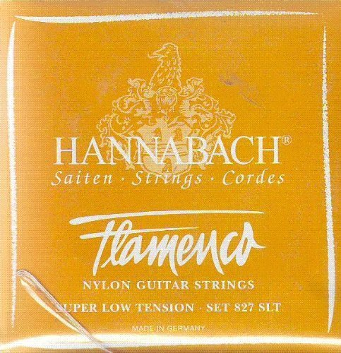 Hannabach Classical Flamenco Guitar Super Low Tension Polished Gold/Silver, 827-SLT