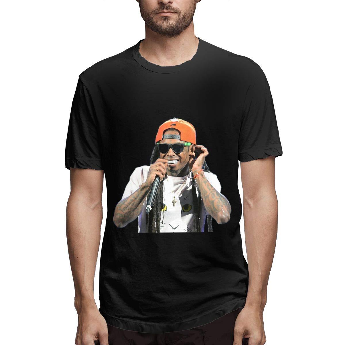 Lihehen Lil Wayne Retro Printing Round Neck Ts Shirts