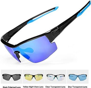 INBIKE Gafas Sol Polarizadas Ciclismo Con 5 Lentes De Pc ...
