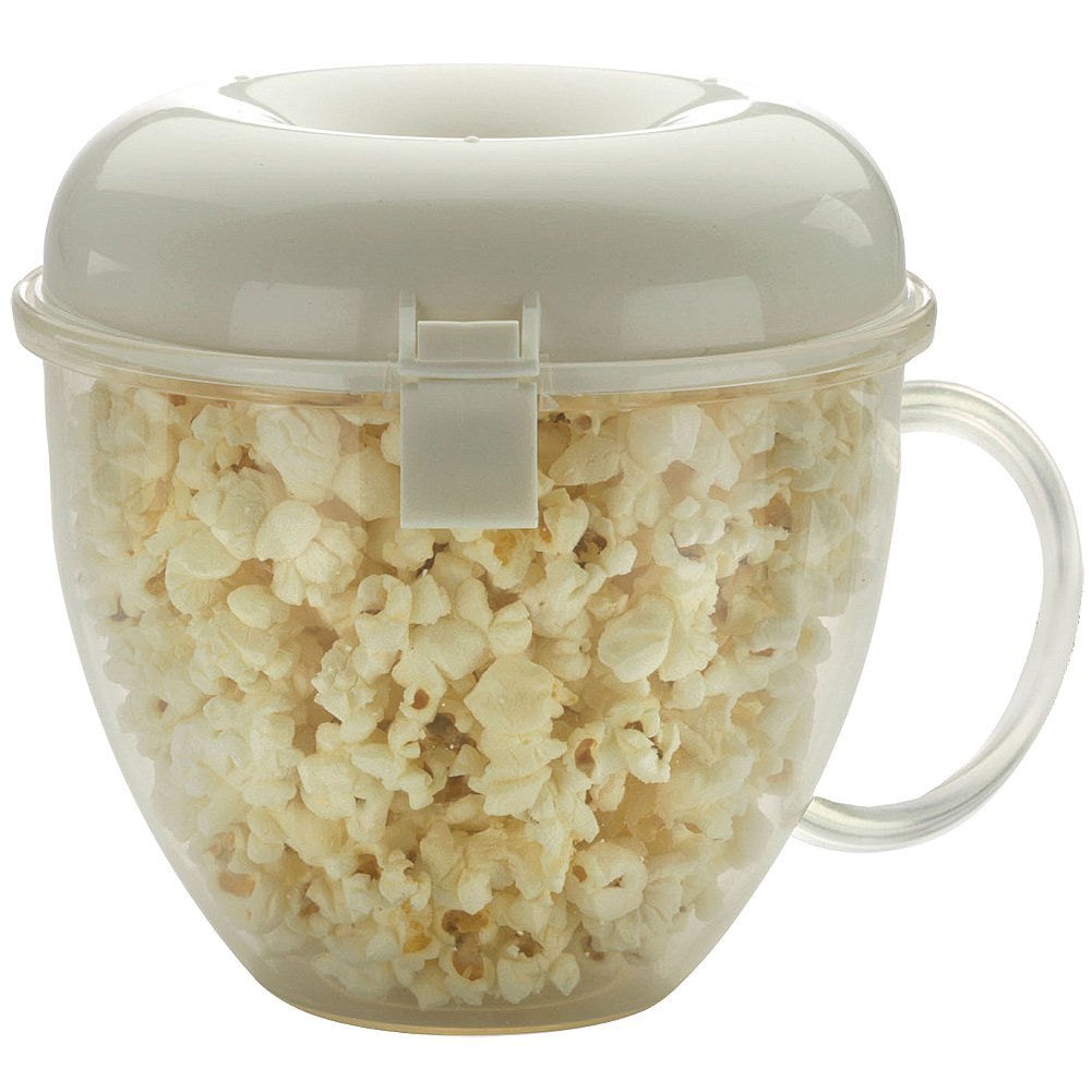 Popcorn Wave: Microwaveable, 4 Cups, No Oil or Butter, Dishwasher Safe