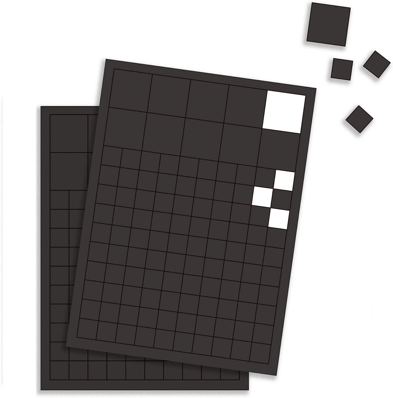 GAUDER Placas Magnéticas Autoadhesivas | Láminas Imantadas Adhesivas A4 | Peganitas de Imán Fuertes para Neveras y Pizarras: Amazon.es: Hogar