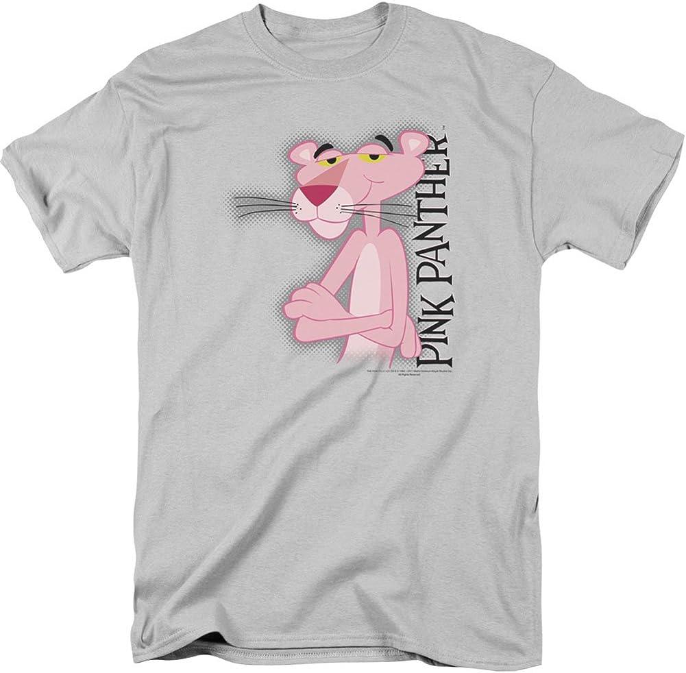 MGM Hombres de la pantera rosa camiseta plata: Amazon.es: Ropa y accesorios