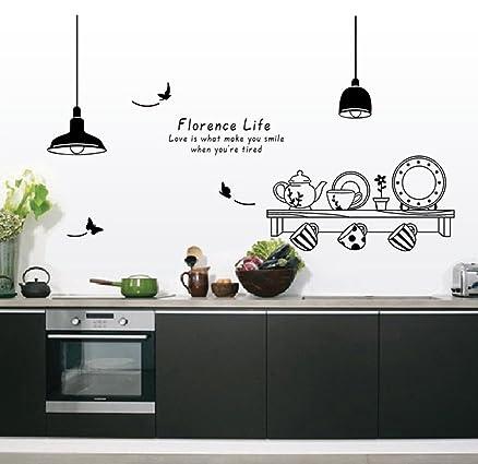 Emejing Decorazioni Muro Cucina Photos - Acomo.us - acomo.us