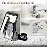 iTouchless EZ Faucet PRO Automatic Sensor Faucet Adapter for Any Sink Faucet and Cat Fountain, Pet Water Dispenser