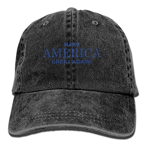 dac9d9df2d0 DNUPUP Adults MAGA Make America Great Again Adjustable Casual Cool Baseball  Cap Retro Cowboy Hat Cotton