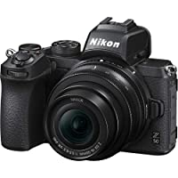 Deals on Nikon Z50 Mirrorless Camera w/16-50mm f/3.5-6.3 VR Lens Refurb