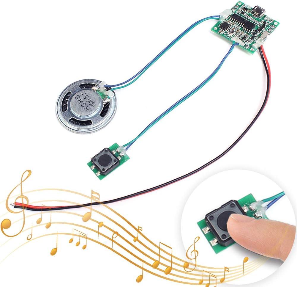 MP3 Voice Recording Playback Module Sound Recorder Board With Speaker+PIR Sensor