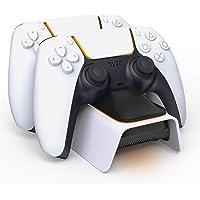 Carregador controlador PS5 atualizado AVIDET, carregador de controle PS5 compatível com Playstation 5 estação de…
