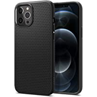 Spigen Liquid Air Armor Designed for iPhone 12 Pro Max Case (2020) - Matte Black