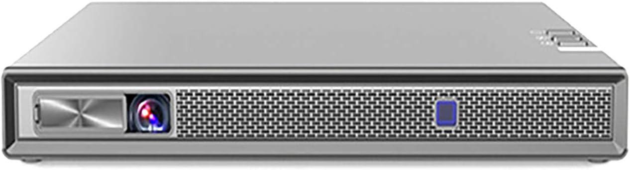 Opinión sobre Proyector portátil en miniatura para el hogar y al aire libre 600 lúmenes Proyector multifunción gris