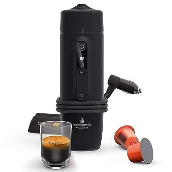 Handpresso 48309: cafetera portátil de expreso de cápsula, 120 W, 0,05 litros, negra: Amazon.es: Hogar