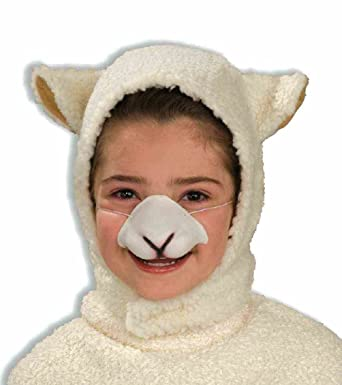 Farm Animal Sheep Kit Child Hood with Ears Nose Costume Accessory  sc 1 st  Amazon.com & Farm Animal Sheep Kit Child Hood with Ears Nose Costume Accessory at ...